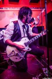 Jay Wylde, cantante, guitarrista y armonicista  de Thee Wylde Oscars (Shake!, Bilbao, 2019)