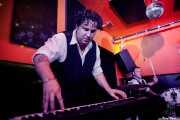 Ezra Lee -pianista colaborador- y George Wylde -batería- de Thee Wylde Oscars (Shake!, Bilbao, 2019)