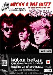 Cartel de Micky & The Buzz (Kafe Antzokia, Bilbao, )