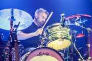 Greg Schutte, baterista de Ryan Bingham & Band (Kafe Antzokia, Bilbao, 2019)