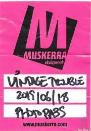 PhotoPass de Vintage Trouble (Kafe Antzokia, Bilbao, )