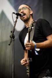 Mikel Escalera, cantante y guitarrista de Giante (Azkena Rock Festival, Vitoria-Gasteiz, 2019)