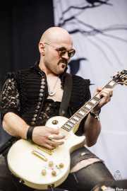 Dan Stevens, guitarrista de Inglorious (Azkena Rock Festival, Vitoria-Gasteiz, 2019)