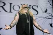 Nathan James, cantante de Inglorious (Azkena Rock Festival, Vitoria-Gasteiz, 2019)