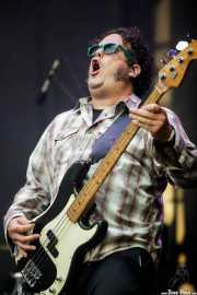John C. Stubblefield, bajista de Lucero (Azkena Rock Festival, Vitoria-Gasteiz, 2019)