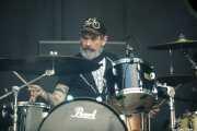 Roy Berry, baterista de Lucero (Azkena Rock Festival, Vitoria-Gasteiz, 2019)