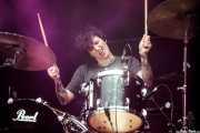 Lauren Hammel, baterista de Tropical Fuck Storm (Azkena Rock Festival, Vitoria-Gasteiz, 2019)