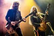 Charlie Starr -voz y guitarra- y Paul Jackson -guitarra- de Blackberry Smoke (Azkena Rock Festival, Vitoria-Gasteiz, 2019)