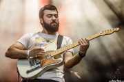 Roberto Nieves, guitarrista de Outgravity (Azkena Rock Festival, Vitoria-Gasteiz, 2019)
