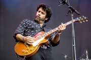 Pit Idoyaga, guitarrista de Garbayo (Azkena Rock Festival, Vitoria-Gasteiz, 2019)