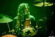 Austin Smith, baterista de Starcrawler (Azkena Rock Festival, Vitoria-Gasteiz, 2019)