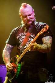 Mikey Classic, cantante, guitarrista y banjista de The Goddamn Gallows (Kafe Antzokia, Bilbao, 2019)
