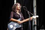 Anari Alberdi, cantante guitarrista (Bilbao BBK Live, Bilbao, 2019)