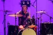 Natxo Beltrán, baterista de Hertzainak. Josu Zabala & Gari (Palacio Euskaduna Jauregia, Bilbao, 2019)