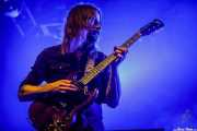 Jonatan Larocca-Ramm, guitarrista de Graveyard (Santana 27, Bilbao, 2019)