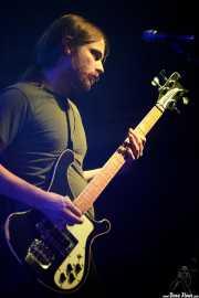 Truls Mörck, bajista y cantante de Graveyard (Santana 27, Bilbao, 2019)