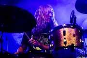 Oskar Bergenheim, baterista de Graveyard (Santana 27, Bilbao, 2019)