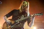 Joakim Nilsson, cantante y guitarrista de Graveyard (Santana 27, Bilbao, 2019)