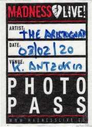 PhotoPass de The Aristocrats (Kafe Antzokia, Bilbao, )