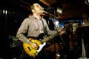 Angel Kaplan, cantante y guitarrista de Peralta (Crazy Horse, Bilbao, 2020)