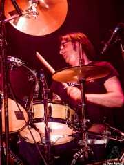 Txema Gure, baterista de Rainy City Kids (Bilborock, Bilbao, 2004)