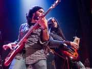 Jose Javier Manzanedo -bajo- y Asier Fernández -guitarra- de The Soulbreaker Company (Bilborock, Bilbao, 2005)