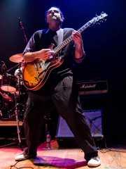 Xixo Yantani, guitarrista de The Cherry Boppers (Bilborock, Bilbao, 2007)