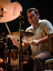 Txefo K-Billy, baterista de The Cherry Boppers (Bilborock, Bilbao, 2007)