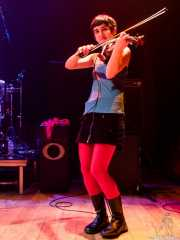 Nerea Alberdi Etxebarría, violinista de Maha (Bilborock, Bilbao, 2007)