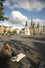 Plaza del Mercado de los Viernes (Gante, Bélgica)