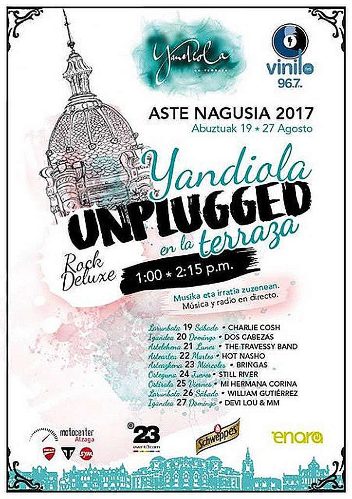 Cartel Aste Nagusia 2017 Yandiola