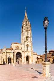 Catedral de San Salvador de Oviedo en la Plaza de Alfonso II El Casto, Plaza de Alfoso II El Casto, 2014