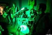 """Marcos Montoto -voz y guitarra-, Juancho López -bajo-, Pablo González """"Pibli"""" -batería- y Ángel Kaplan -guitarra- de Peralta, , . 2013"""