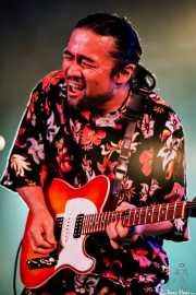 Guitarrista de Deborah Coleman Band (Getxo & Blues - Puerto Viejo de Algorta, Getxo, )