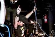 Eddie Spaghetti, cantante y bajista de Supersuckers (Discoteca Gwendolyne, Getxo, )