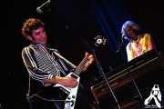 Jose Berrot -voz y guitarra- y Toño Segura -teclado- de Buffalo (Bilborock, Bilbao, )