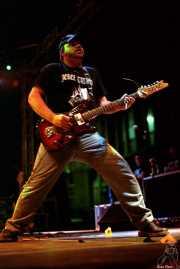 Brad Coffin, guitarrista de Five Horse Johnson (Festival Serie Z, Jerez de la Frontera, )
