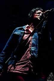 "Sören ""Sulo"" Karlsson, cantante de Diamond Dogs (Festival Serie Z, Jerez de la Frontera, )"