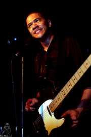 Danko Jones, cantante y guitarrista (Sala Azkena, Bilbao, 2002)