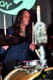 Andrew Loomis, baterista de Dead Moon (Hell Dorado, Vitoria-Gasteiz, )