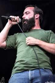 Neil Fallon, cantante y guitarrista de Clutch (FestiMad 2005)