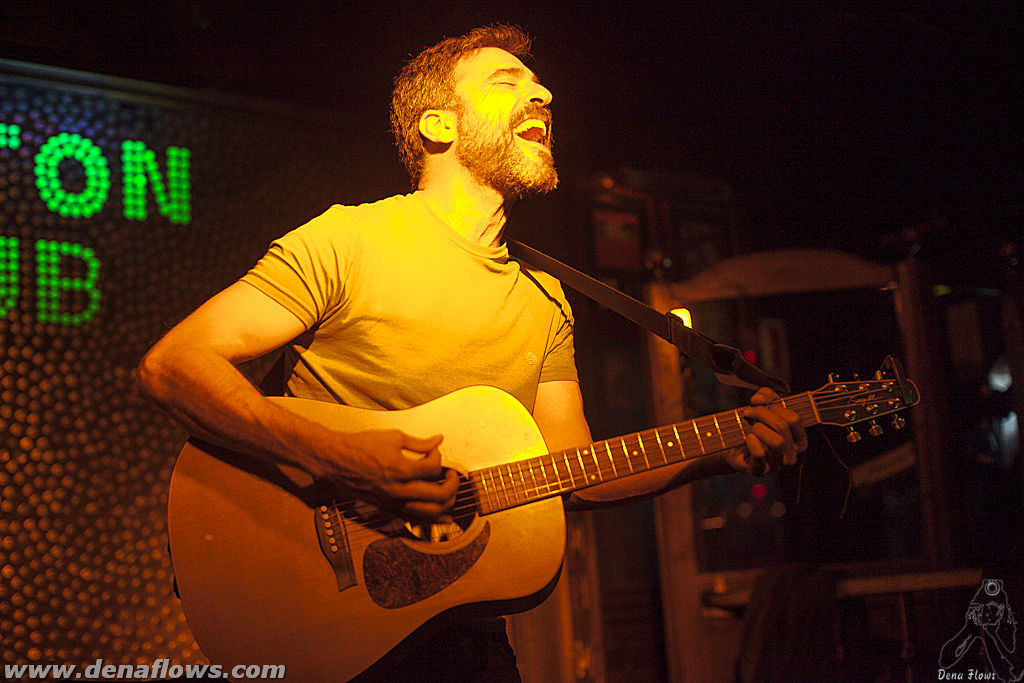 Santi Campos en su concierto de despedida en el Cotton Club de Bilbao el 22 de Junio de 2013