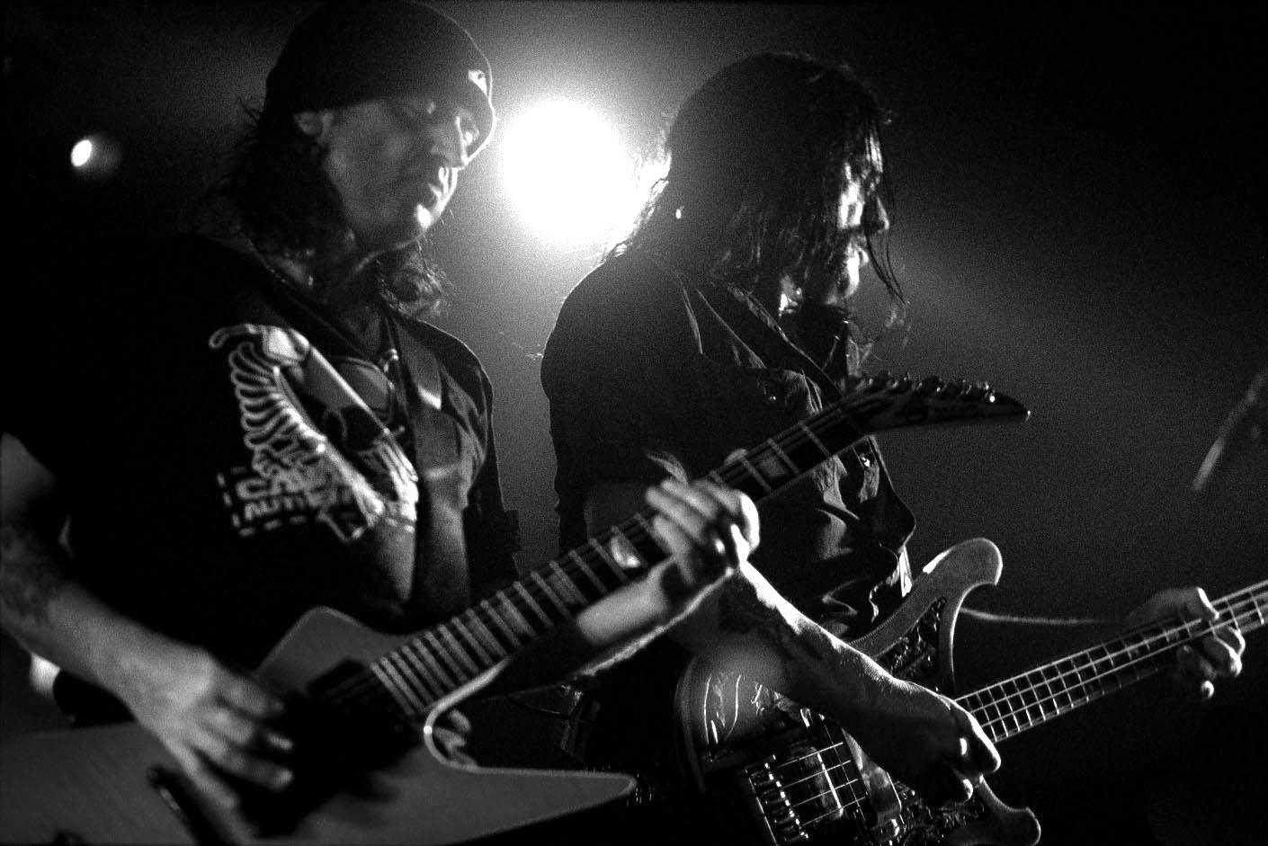Phil Campbell y Lemmy Kilmister de Motorhead por Iker Zubia en In focus 5