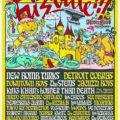 Cartel, FuzzVille 2018, Magic Robin Hood Resort, Alfaz del Pi, Alicante, 19-22/IV/2018