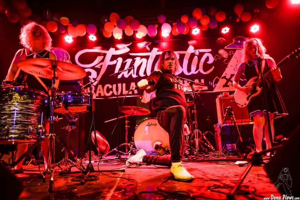 The Monsieurs, Funtastic Dracula Carnival 2015, Discoteka Ku, Benidorm, 10/X/2015