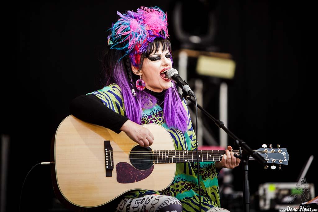 Nina Hagen Band, Music Legends Fest 2016, Centro La Ola, Sondika, 11/VI/2016