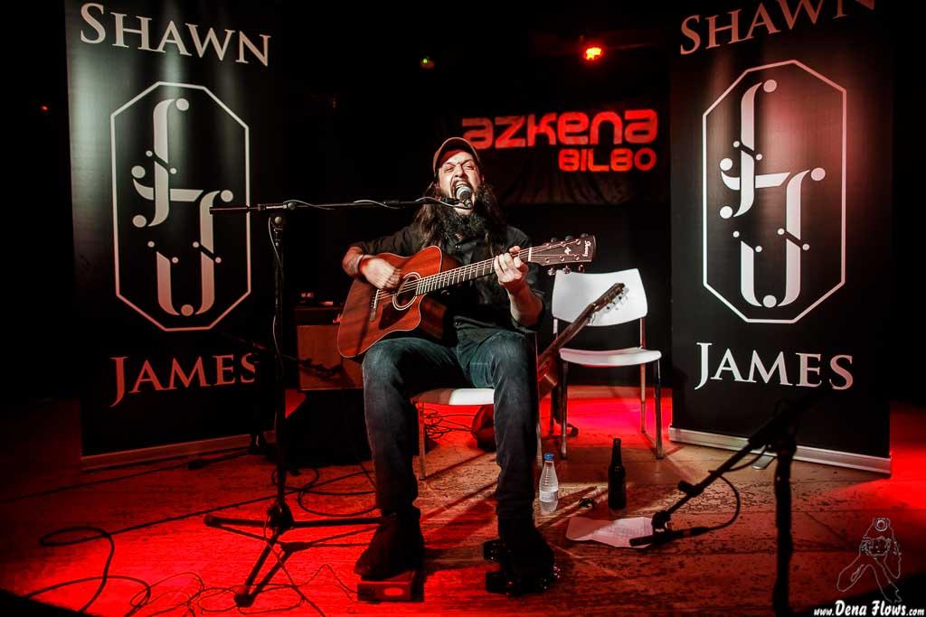 Shawn James, Sala Azkena, Bilbao, 11/III/2017