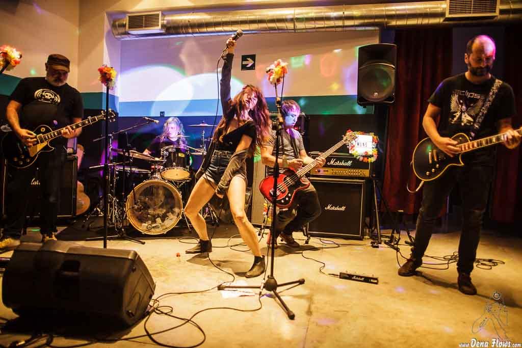 The Ribbons, Sala Play Rock, Bilbao, 27/V/2016