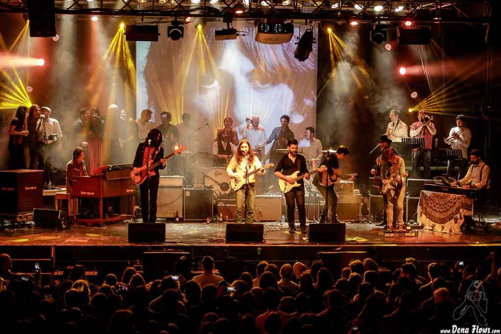 Homenaje a The Concert for Bangladesh. George Harrison, Santana 27, Fever Club, Bilbao, 30/XII/2016
